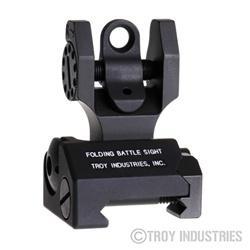 Troy BattleSight Rear Folding - Black