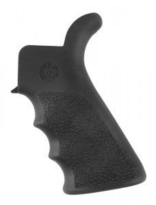 Hogue AR-15/M-16 Rubber Grip Beavertail with Finger Grooves