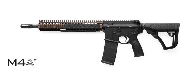 Daniel Defense M4A1 Rifle - Black