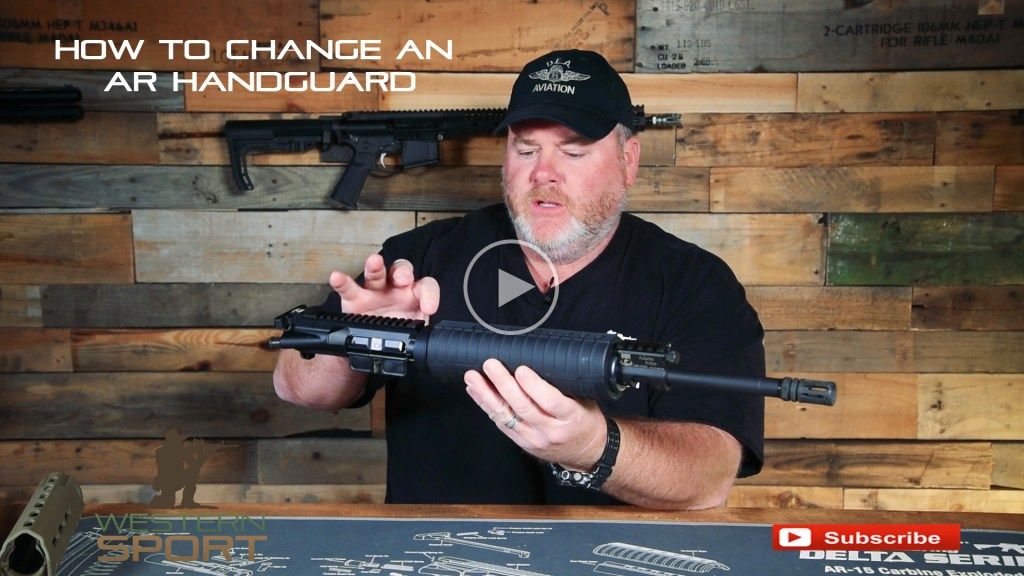 how to change and AR handguard youtube video | wester sport