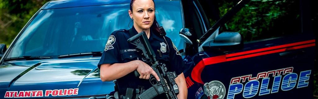 Atlanta Police with SIONICS Duty Gun
