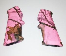 Pink Camo Grip AR-15