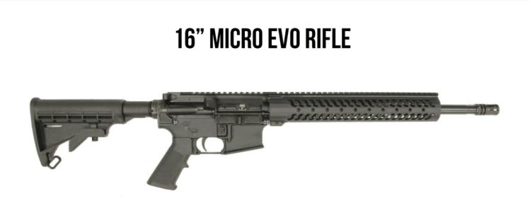 "Adams Arms 16"" Micro Evo Rifle"