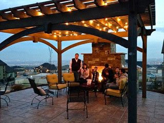 13 Fireplaces Amp Diy Outdoor Shade Structures Western