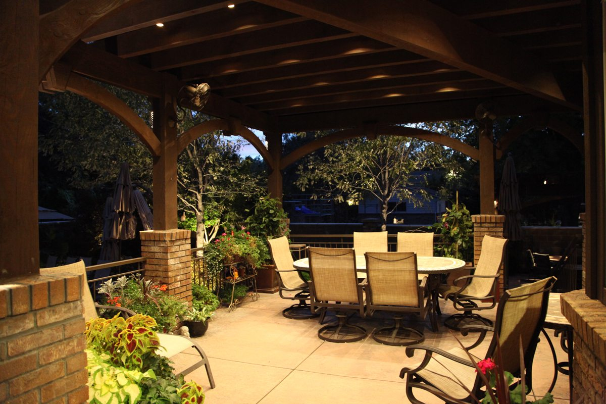 25 Easy To Do Outdoor Dining Rooms Western Timber Frame