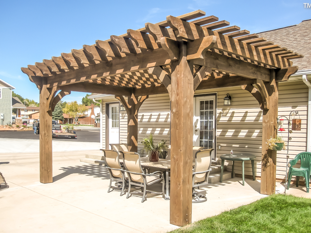 How To Easily Build A Diy Patio Cover Western Timber Frame