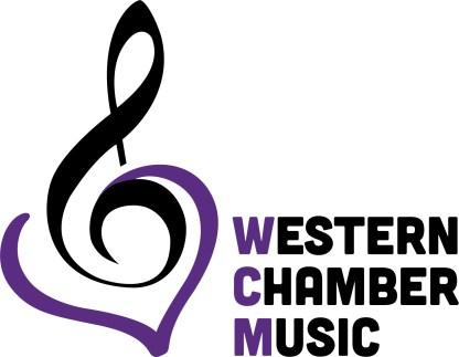 Western Chamber Music logo outline