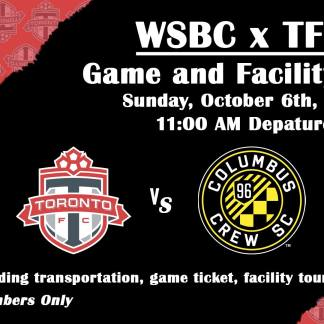 WSBC x Toronto FC: Game and Facility Tour