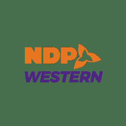 Logo - NDP Western