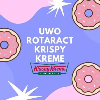 Rotaract Krispy Kreme Sale