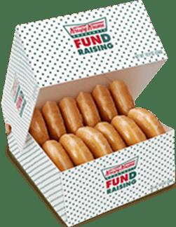 Krispy Kreme Box of 10