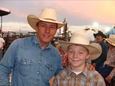 Anthony with JW Hart