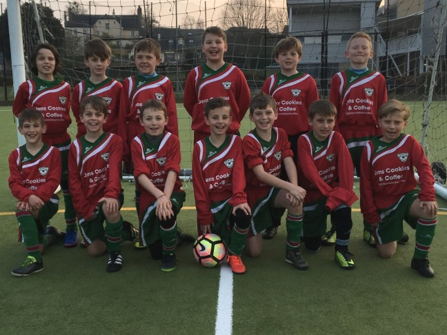 Under 10's (away kit), 27th March 2017