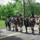The Westford Minutemen marched in this year's Apple Blossom parade.