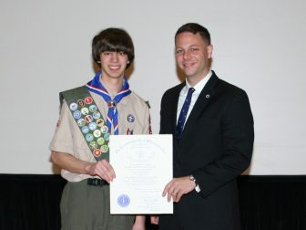 Joel Kottas of Westford Boy Scout Troop 195