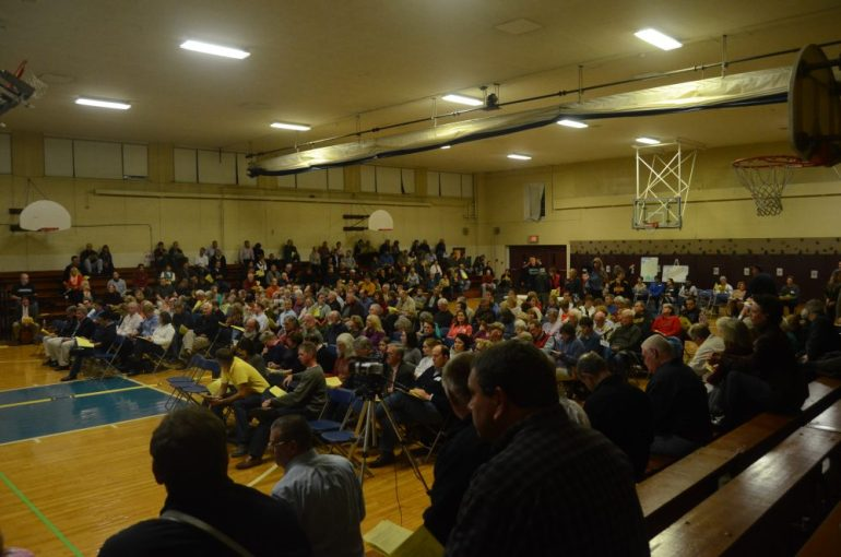 Oct. 20, 2014 Special Town Meeting