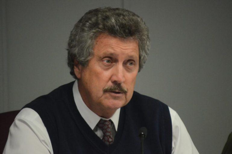 Superintendent Bill Olsen on Nov. 17