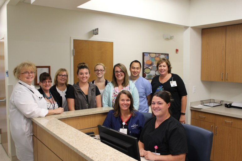 The staff of Circle Health Urgent Care in Westford (courtesy - Circle Health)