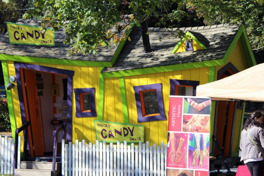 There were more than just food trucks, the fair also had other vendors and booths, such as Westford's Candy House (credit - Sarah Fletcher)