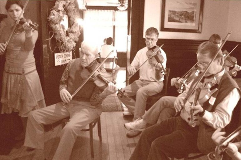 A scene from a previous Fiddle Hell held in Groton (courtesy photo)