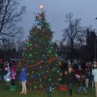 Tree lighting ceremony from 2012