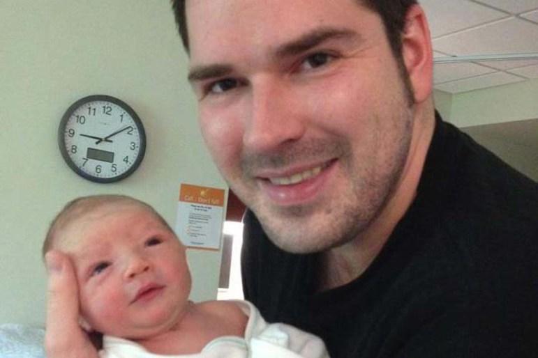 Kurt Kelly with his son Brady (courtesy - Amy Kelly)