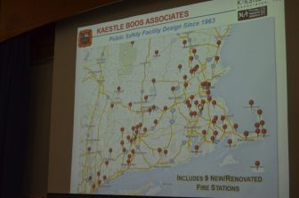 A map of all the Kaestle Boos projects in New England.