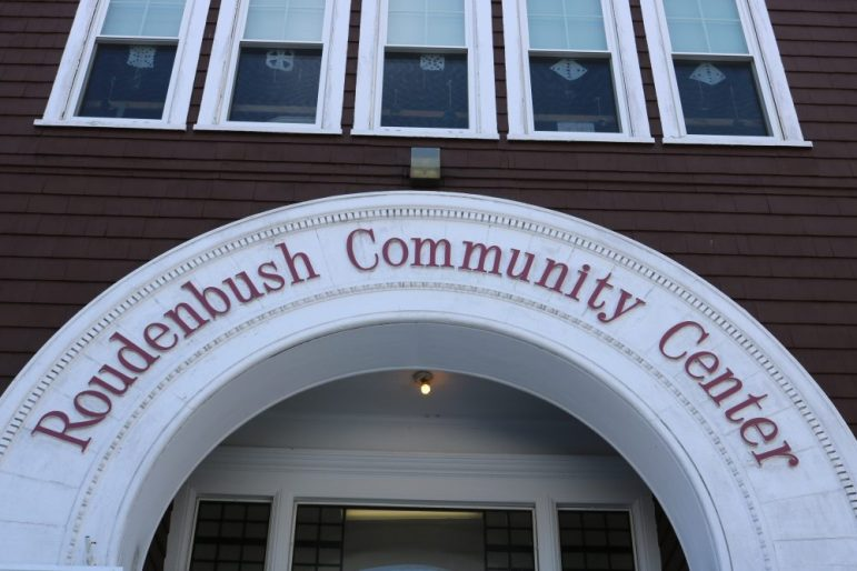Roudebush Community Center entrance. Photo by Joyce Pellino Crane