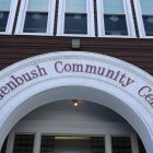 Roudebush Community Center entrance. Photo by Joyce Pellino Crane