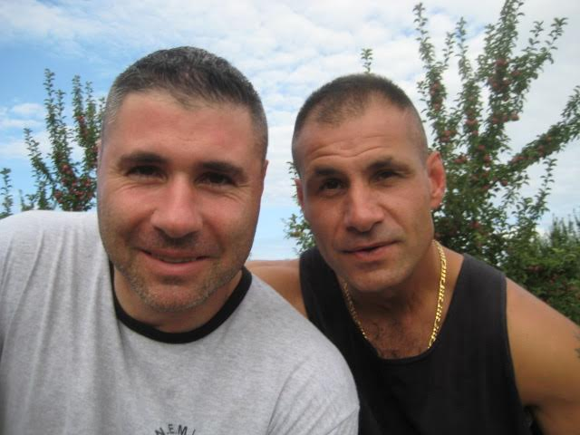 Scott Hyder (left) is the founder of Hidden Battles.  On his right is his  latae brother Nicky Hyder.  Scott founded Hidden Battles in memory of his brother, who was a correction officer that committed suicide in 2017.
