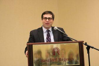 Peter Farkas, exeuctive director of the Greater Lowell Workforce Development Board. PHOTO BY JOYCE PELLINO CRANE