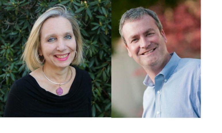 Joyce Pellino Crane and Sean Corcoran. COURTESY PHOTOS