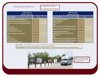 Littleton-Westford CR Shuttle Schedule-2