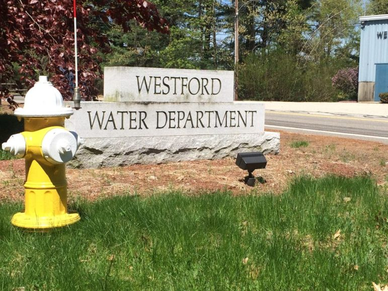 Westford Water Department. COURTESY PHOTO