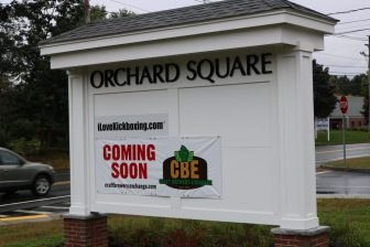 Orchard Square is at 355 Littleton Road. PHOTO BY JOYCE PELLINO CRANE