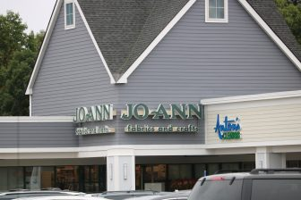Jo-Ann Fabrics and Crafts at the Westford Valley Marketplace. Retail outlets still exist but they're dwindling say members of the Economic Development Committee. PHOTO BY JOYCE PELLINO CRANE