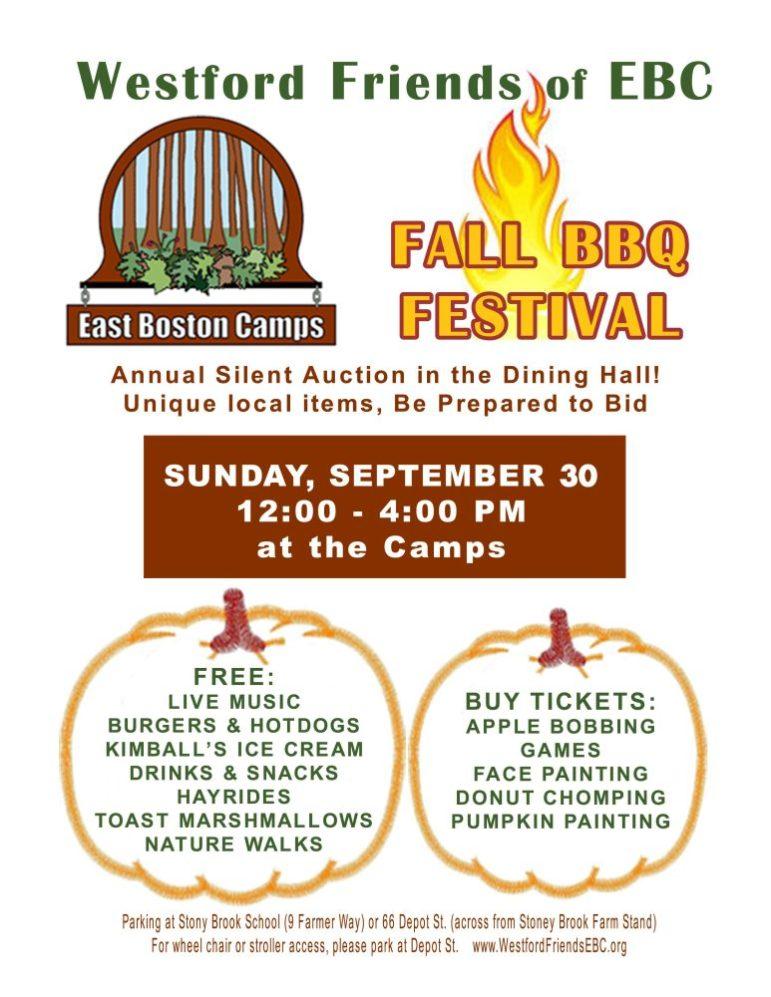 East Boston Camps Fall Festival.