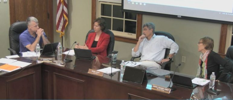 Selectmen meet on Oct. 9. WESTFORDCAT PHOTO