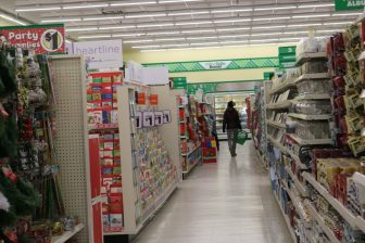 Shoppers scanned the aisles at the Dollar Tree Store on Nov. 30. PHOTO BY JOYCE PELLINO CRANE