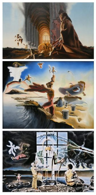 A surreal oil painting by David Martsolf. COURTESY PHOTO