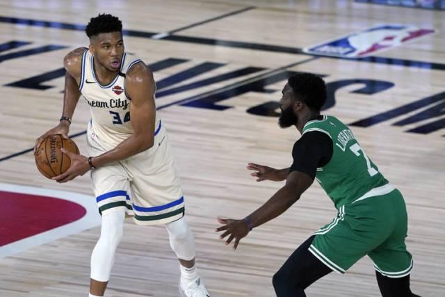 Antetokounmpo, Bucks return with 119-112 win over Celtics