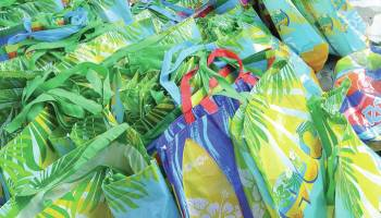 Compassion in action: Aloha MAP program distributes school supplies to participants
