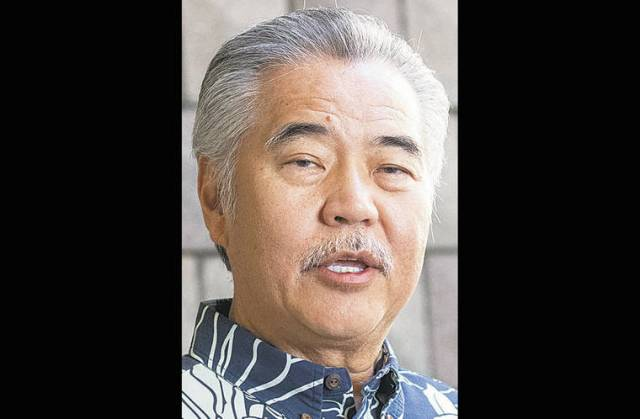 Ige uses line-item veto on virus relief bill