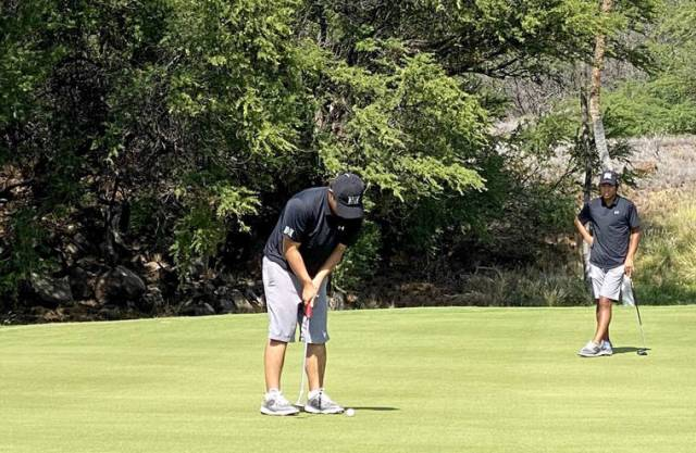 Waiakea grad Isaiah Kanno tied for third after first round of Amer Ari