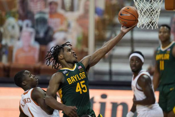 No. 2 Baylor stays unbeaten, tops No. 6 Texas 83-69