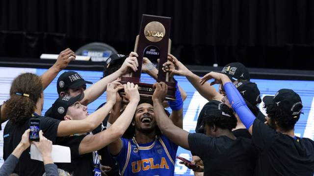 UCLA gets chance to stop undefeated Gonzaga in Final Four