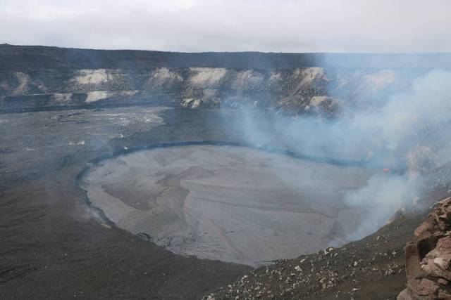 Volcano Watch: The rise and fall of lava lakes