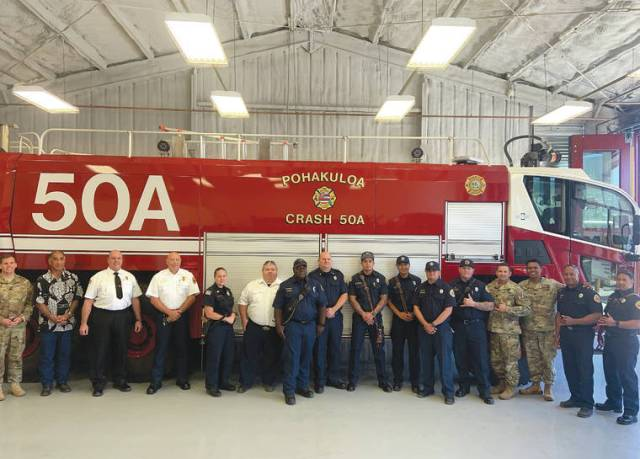 Hometown Heroes: PTA Fire and Emergency Service team get upgraded digs