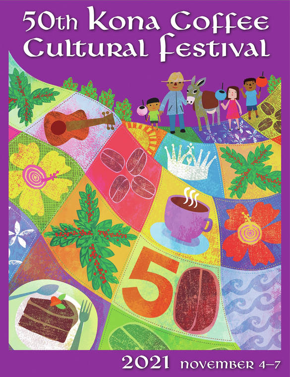 Signature art chosen for Kona Coffee Cultural Festival