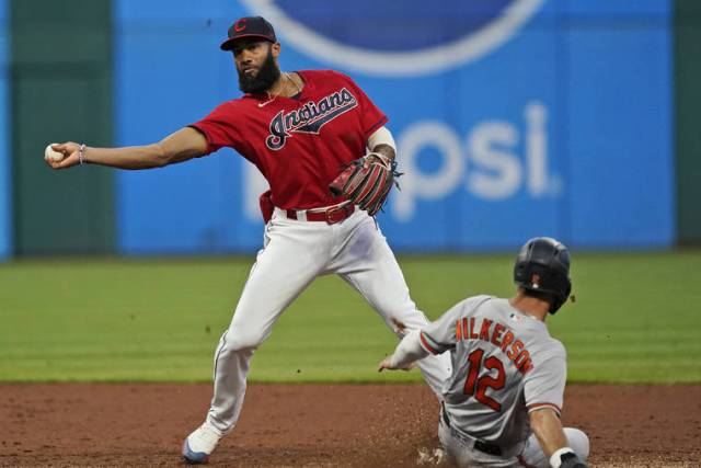 MLB capsules: Indians extend Orioles' road woes, win 4-3